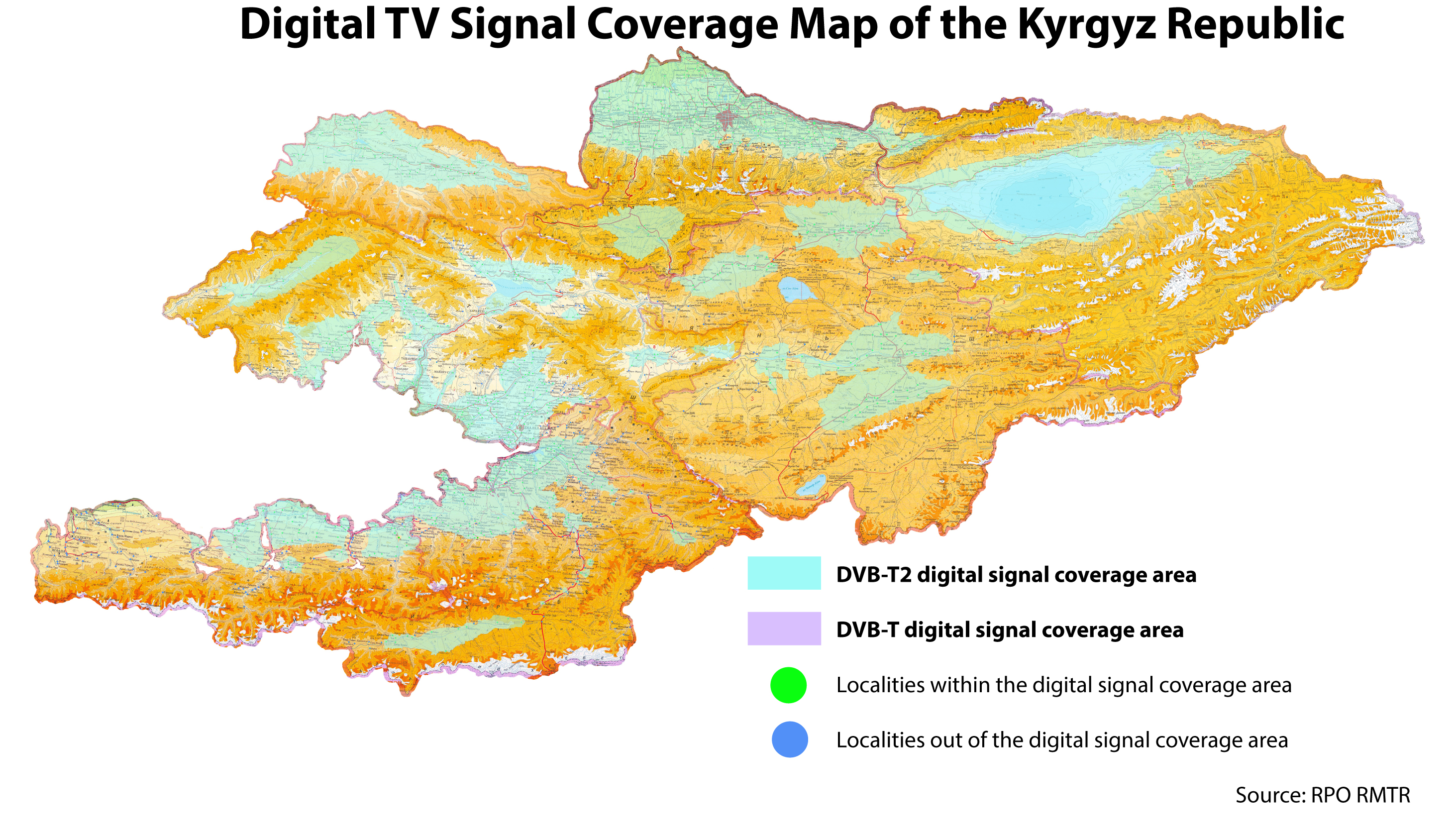 Kyrgyzstan switches tv broadcasting to digital format mediasat english communications agency kyrgyztelecom and the republican production association of radio relay backbones of television and radio broadcasting rpo rmtr gumiabroncs